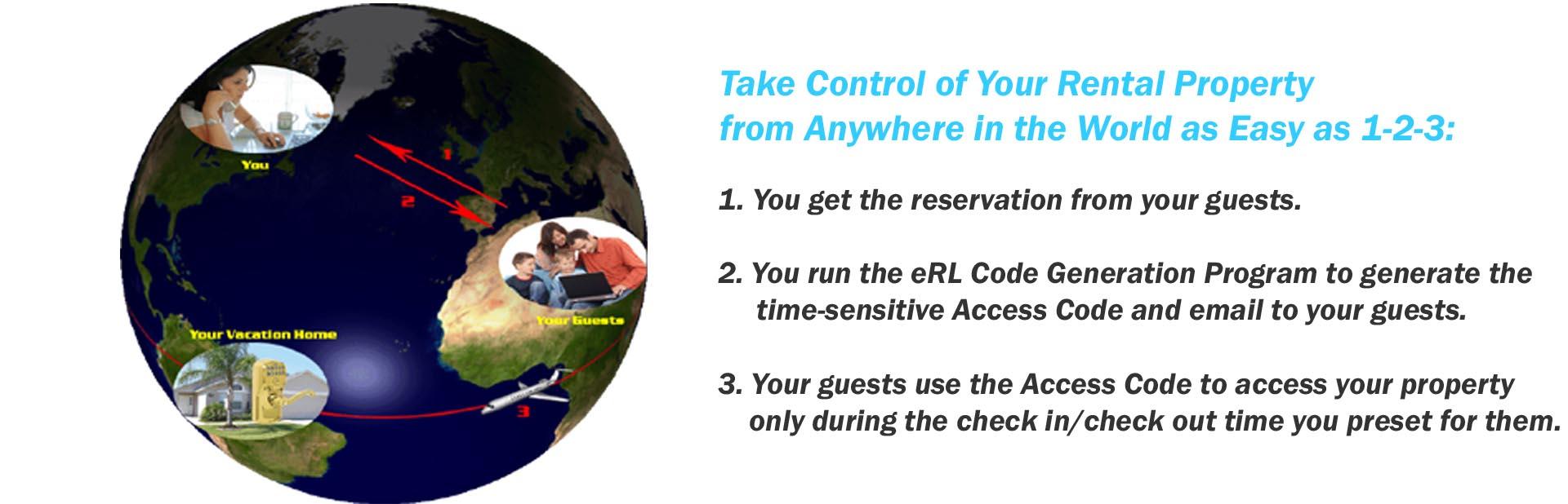 Electronic Rental Lock Vacation Amp Airbnb Rental